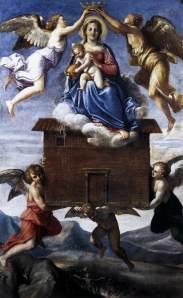 Virgen de Loreto_ Anibal Caracci_ 1605
