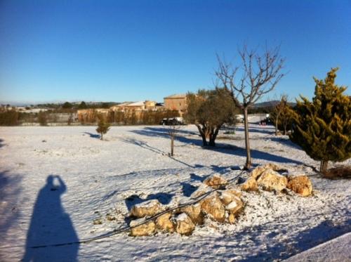 aerodromo invernal enero 2013 Aeródromo Requena (2)