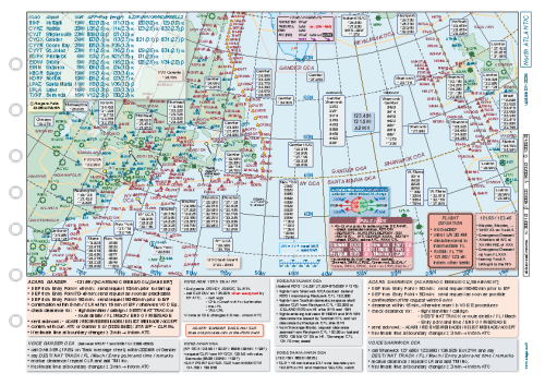 NATs map