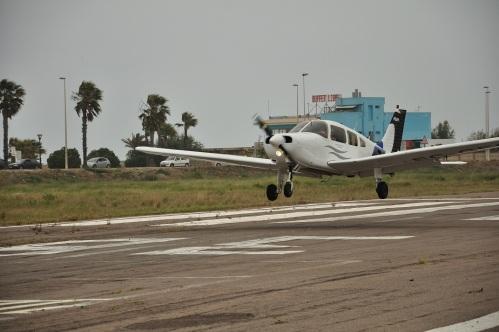 """La ECGEG del CAV haciendo un """"cero"""" en la Vuelta Aérea del Mediterraneo 2011, celebrada en Castellón - LECN"""