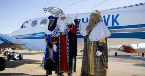 Imágenes de la visita de los Reyes Magos, el año pasado.