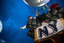 el globo se va al aire Copa Gordon Benneett 2014