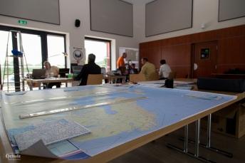 equipo apoyo a la navegación Copa Gordon Bennett